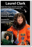 Astronaut Laurel Clark Women in Space - NEW NASA Space Poster (fp399) Space Shuttle Columbia 2003 PosterEnvy