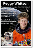 Astronaut Peggy Whitson - First Woman Commander of the International Space Station - NEW NASA Space Poster (fp402) PosterEnvy