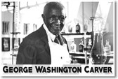 George Washington Carver NEW Classroom Famous Scientist Poster (fp432) PosterEnvy school science peanut