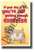 Fat Dog - NEW Health and Safety POSTER (he074) PosterEnvy Poster