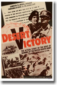Desert Victory - Vintage WW2 Reprint Poster
