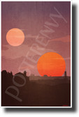 Tatooine - NEW Star Wars Planet Poster (fa176) PosterEnvy Poster
