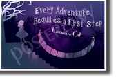 Every Adventure Requires a First Step - NEW Classroom Motivational Poster (cm1261)