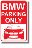 BMW Parking - NEW Humor POSTER (hu425)