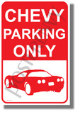 Chevy Parking - NEW Humor POSTER (hu426)