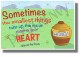 Sometimes the Smallest Things Take Up the Most Room in Your Heart - NEW Classroom Motivational POSTER