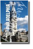 Philadelphia, Pennsylvania - NEW U.S State City Travel Poster