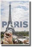Eiffel Tower - Paris, France - NEW World Travel Art Poster