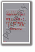 Having a Passion - Adam Vanunu - NEW Motivational Classroom POSTER (cm1327)