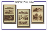 3 Poster Set - World War I Photo Essay
