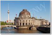 Bode Museum at the Northern Tip of Museum Island in Berlin Germany - NEW World Travel Poster