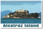 Alcatraz Island - NEW World Travel Poster