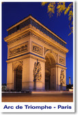 Arc de Triomphe - NEW World Travel Poster