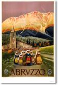 Abruzzo - Italy Vintage Print