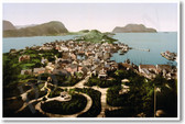 Alesund Norway - Vintage Photo Circa 1897