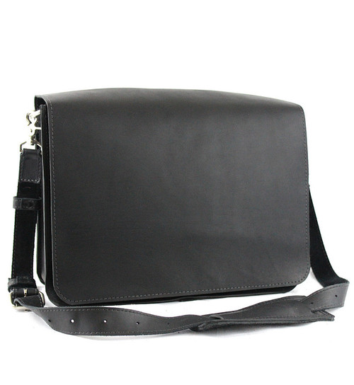 "Large 15"" Sierra Mission Laptop Bag Made in the U.S.A. - Black - 15-MIS-BL-LAP"