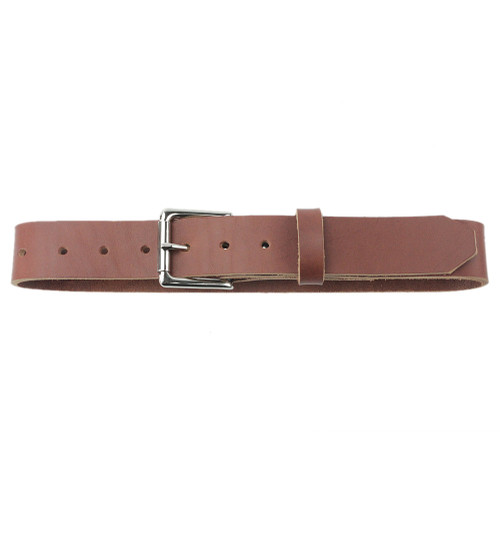The Staton Belt - Full Grain Leather Belt - Toffee Made in the U.S.A. - TOF-BLT-ROLBUC-NP