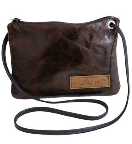 Monterey Clutch Purse in Italian Leather  - Molasses - Made in the U.S.A. - MONT-CLUT-PURS-IM