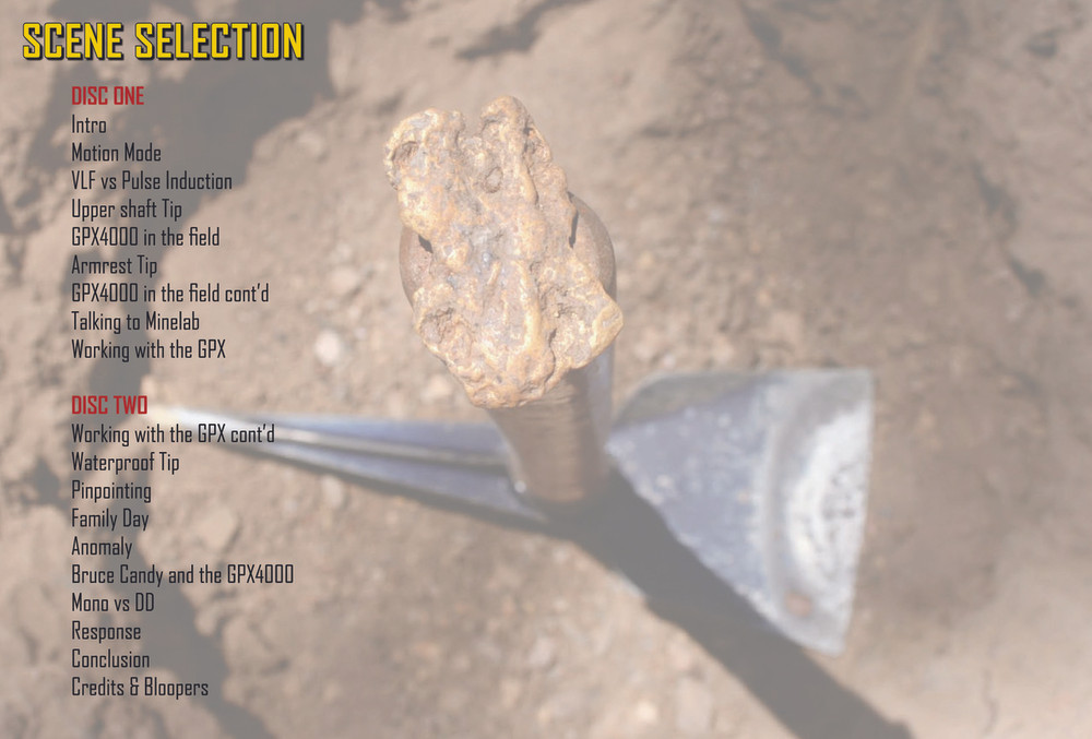 The GPX Factor Gold Prospecting The Outback Prospector Jonathan Porter Chapters of the DVD