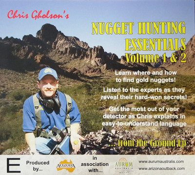 Nugget Hunting Essentials DVD Volume 1 & 2