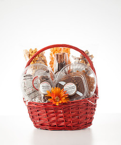 Homemade Sampler Basket