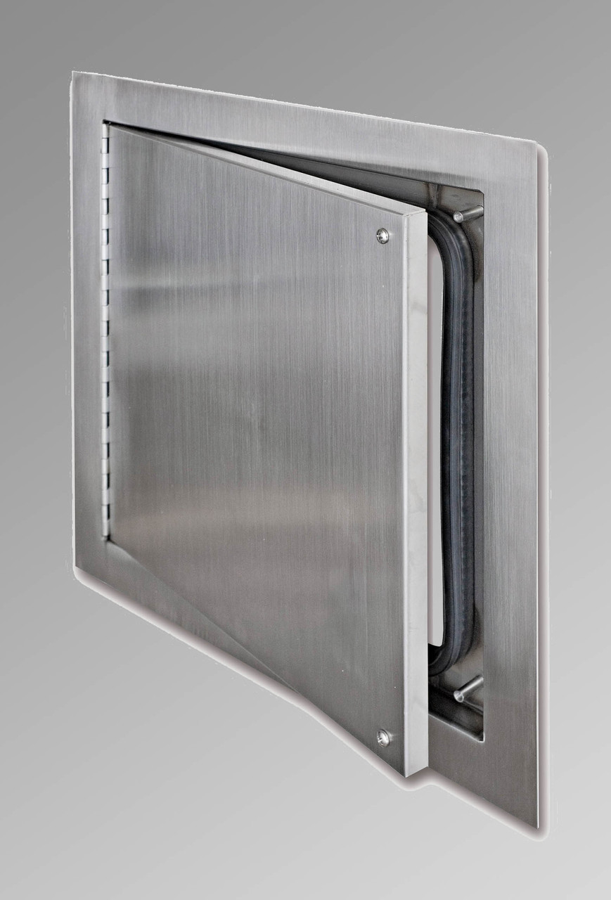 Stainless Access Doors : Quot airtight watertight access door stainless