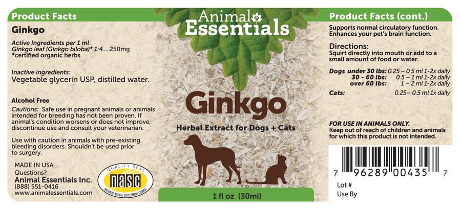 Ginkgo 1 oz