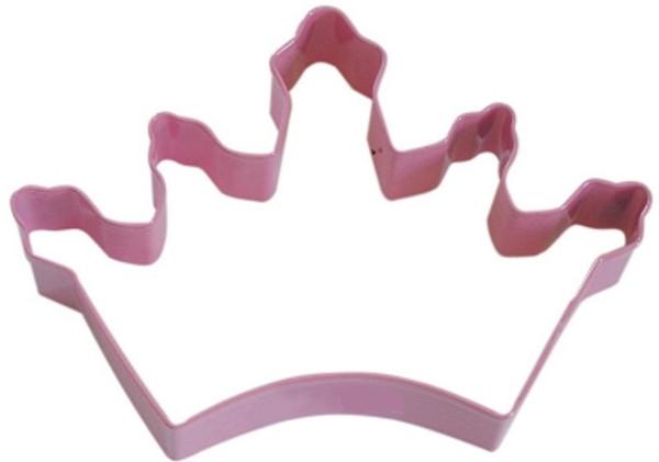 Pink Crown Cookie Cutter