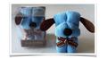 Blue Puppy Paw Wipe
