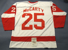 DARREN McCARTY AUTOGRAPHED DETROIT RED WINGS JERSEY JSA