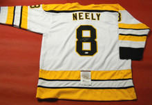 CAM NEELY AUTOGRAPHED BOSTON BRUINS JERSEY JSA