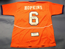 DEANDRE HOPKINS AUTOGRAPHED HOUSTON CLEMSON TIGERS JERSEY TRISTAR HOUSTON TEXANS