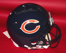 DICK BUTKUS AUTOGRAPHED CHICAGO BEARS AUTHENTIC FS HELMET MOUNTED MEMORIES