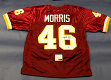 ALFRED MORRIS AUTOGRAPHED WASHINGTON REDSKINS JERSEY PSA/DNA