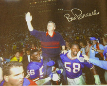 BILL PARCELLS AUTOGRAPHED NEW YORK GIANTS 20X25 CANVAS AAA SUPER BOWL 25 LTBANKS