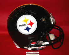 JEROME BETTIS AUTOGRAPHED PITTSBURGH STEELERS FS PROLINE HELMET JSA THE BUS