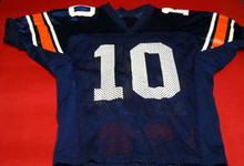 AUBURN TIGERS GAME WORN FOOTBALL JERSEY CAM NEWTON BO