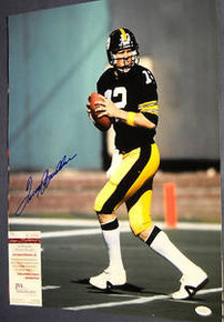 AUTOGRAPHED TERRY BRADSHAW STEELERS 16X20 PHOTO JSA