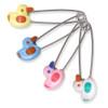 Jumbo Ducks Steel Locking Diaper Pins - 4