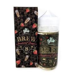 Brew Strawberry Frappe 100ml - Juice Roll Upz