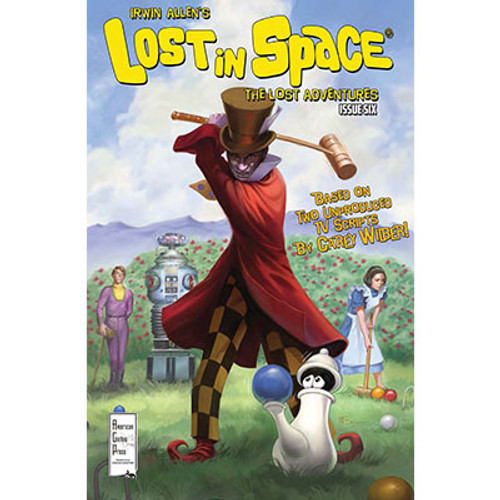 Irwin Allen's Lost in Space: The Lost Adventures #6 Cover A Patrick McEvoy