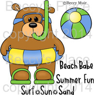 Summer Stanley digital stamps