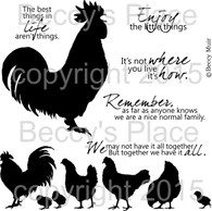 Chicken Run digital stamps