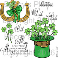 Irish Blessings digital stamps