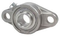 "1"" Stainless Steel Two Bolt Flange Bearing SSUCFL205-16"