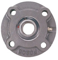 "1-1/8"" Four Bolt Piloted Flange Cartridge Bearing"
