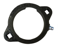 PFTD206 Two Bolt Ductile Iron Flange Housing For 62MM OD Bearings