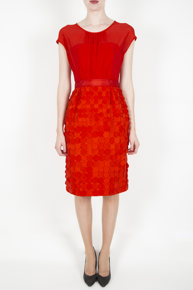 Fee g red dress number