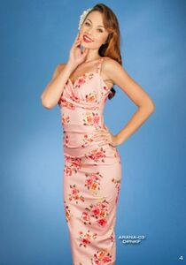 Stop Staring Arana Floral Dress Coral