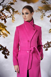 Fee G Pink  Wrap Coat
